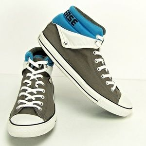 4035422871999c Converse Shoes - CONVERSE Mens CT PC PEEL BACK MID IN CHARCOAL Blue